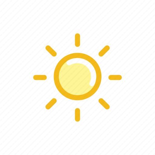 forecast, light, lightning, nature, shine, sun, weather icon