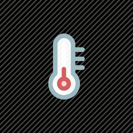 device, gauge, heat, low, measurement, temperature, weather icon