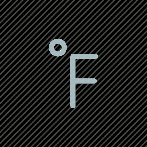 centigrade, degree, feranhit, forecast, meterology, temperature icon