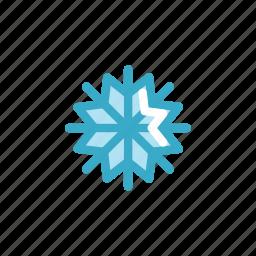 atmosphere, fall, flake, snow, snowflake, weather, winter icon