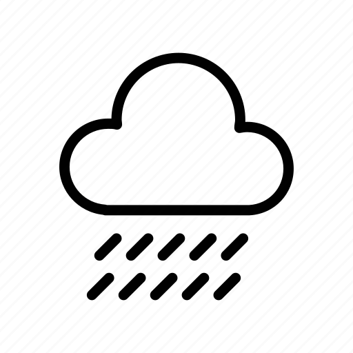 cloud, clouds, cloudy, dark, forecast, rain, weather icon