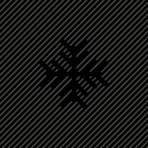 flake, forecast, sky, snow, snowflake, weather, winter icon