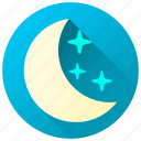 clear skies, forecast, night, weather icon