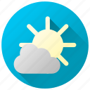 cloud cover, clouds, cloudy, forecast, weather icon