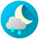 forecast, rainfall, rainy, showers, weather, wet icon