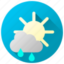 forecast, rain, rainfall, rainy, showers, weather icon