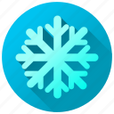 cold, forecast, ice, snow, snowflake, weather icon