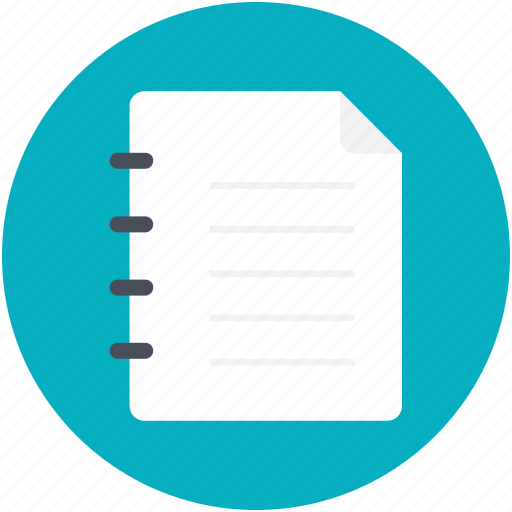 memorandum, message, notation, note, record icon