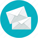 correspondence, mail, letters, messages, envelopes