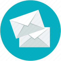 correspondence, envelopes, letters, mail, messages icon