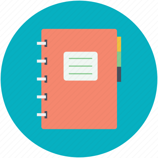daybook, diary, notebook, personal organizer, reminder icon