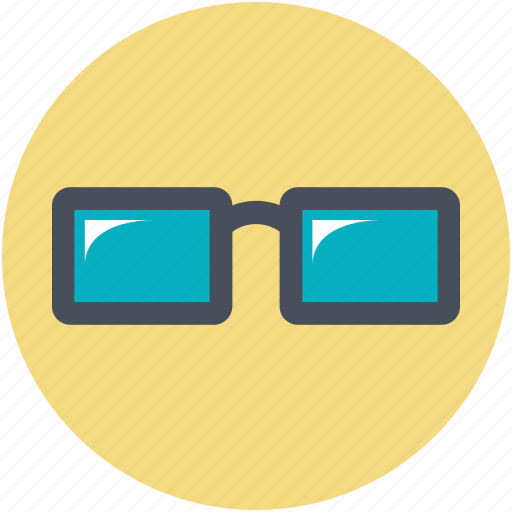 eyeglasses, glare glasses, glasses, spectacles, sun glasses icon