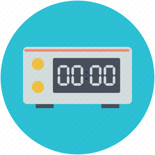 countdown, digital clock, numbers, timer, watch icon