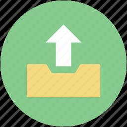 arrow indication, upload, uploading, web app, web element icon