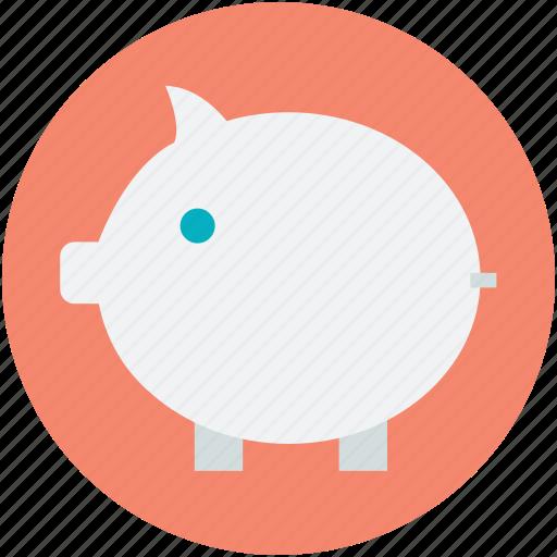 deposit, economy, finance, investing, piggy bank icon