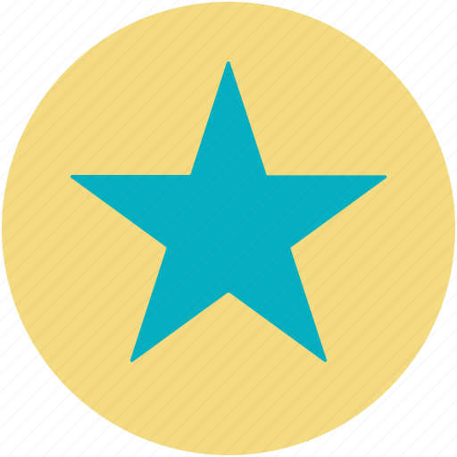 bookmark, favorite sign, five pointed star, star icon