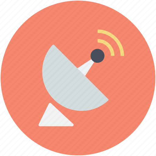 dish antenna, parabolic antenna, radar, satellite dish, sputnik antenna icon