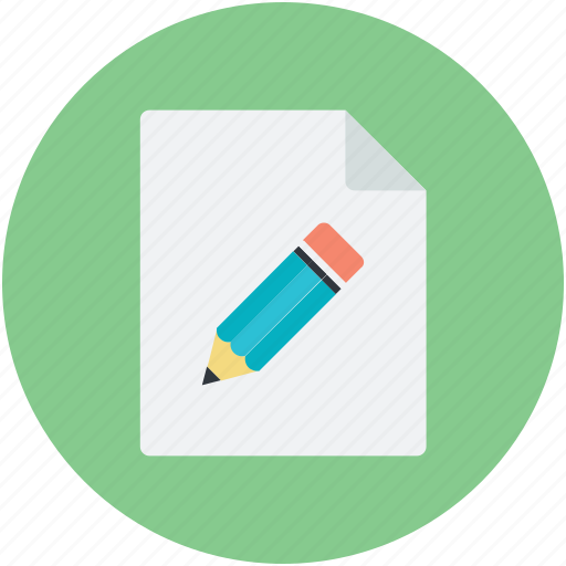 edit, page, pencil, subscribe, write, writing icon