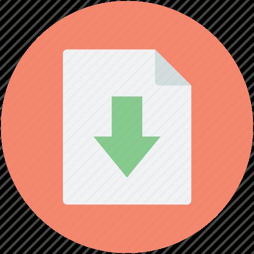 computing, data downloading, download, download symbol, downloading, page, web element, webpage icon