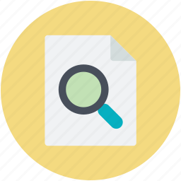 discovery, magnification, magnifying, magnifying glass, page icon