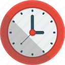 clock, hour, minute, second, time icon