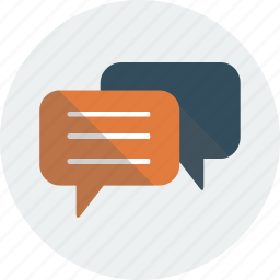 communication, discussion, speech, speech bubbles icon
