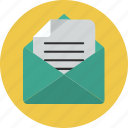 envelope, letter, send icon