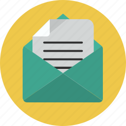 envelope, letter, send icon