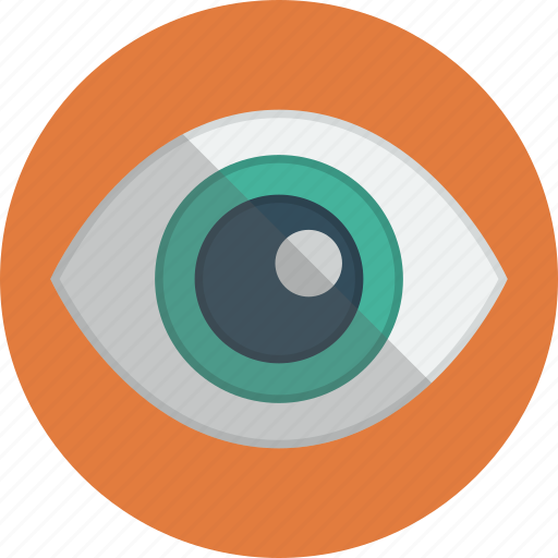 eye, see, view, visible icon