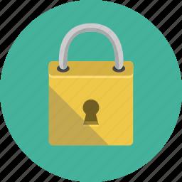blocked, closed, lock, padlock icon
