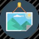 image, jpeg, landscape, picture icon