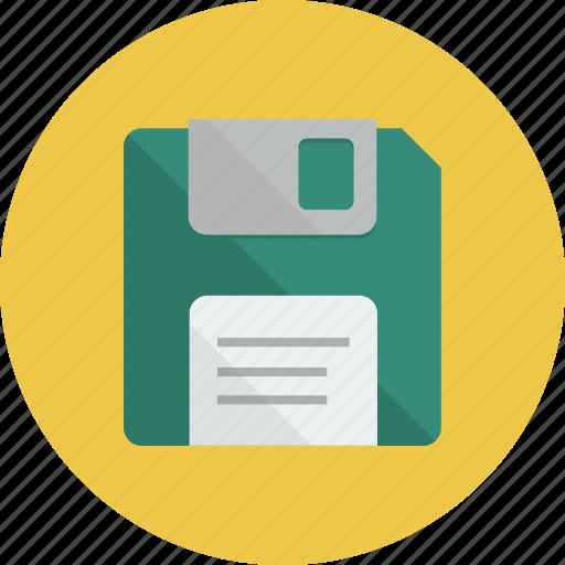 diskette, floppy, floppy disk, guardar, save icon