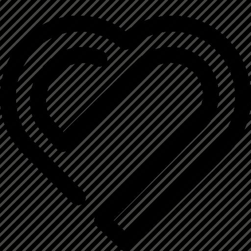 heart, like icon