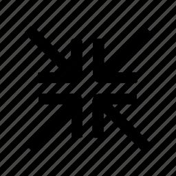 arrow, zoom icon