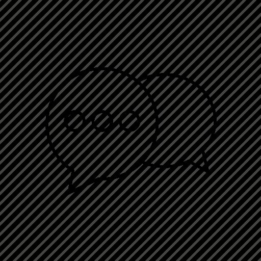 bubble, chat, communication, conversation, speech, talk icon