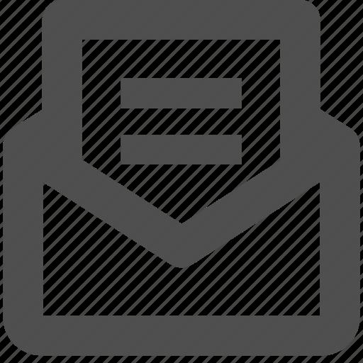 app, envelope, letter, mail, web, website icon