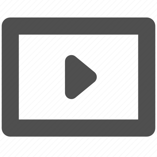 app, movie, play, video, web, website icon