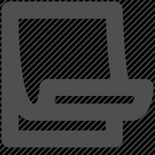 app, book, note, paper, web, website icon