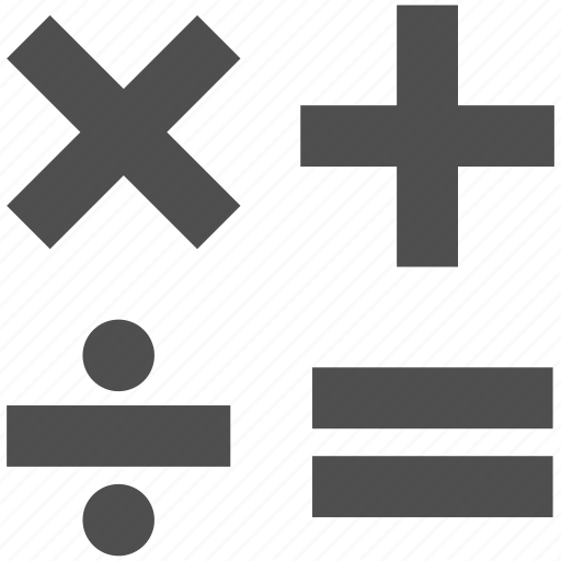 app, calculator, math, number, web, website icon