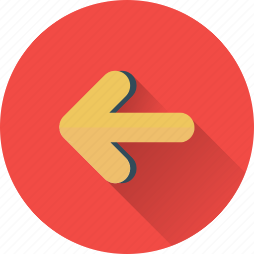 arrow, chevron, left icon