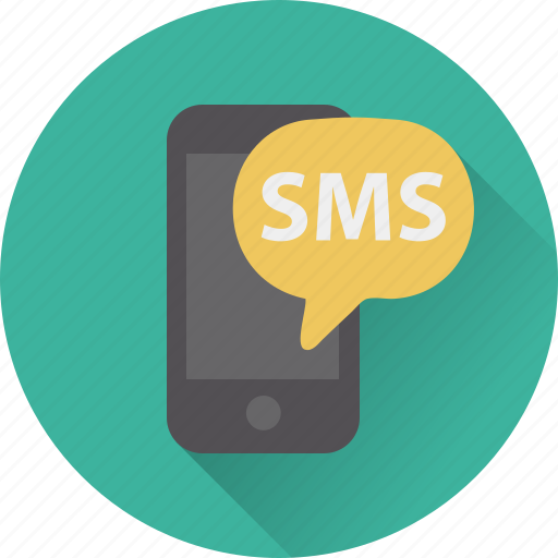 bubble, chat, message, mobile, sms, speech, talk icon