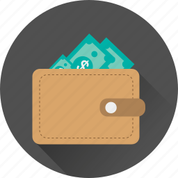cash, currency, dollar, funding, investment, money icon