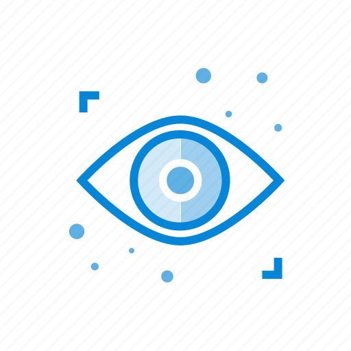 eye, look, vision icon