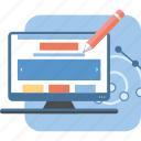 design, design web, responsive, web, web design icon icon