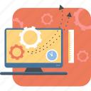 briefcase, design, job, management, portfolio, project icon icon