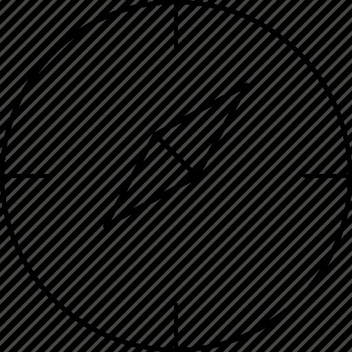 communication, compass, marketing, web icon