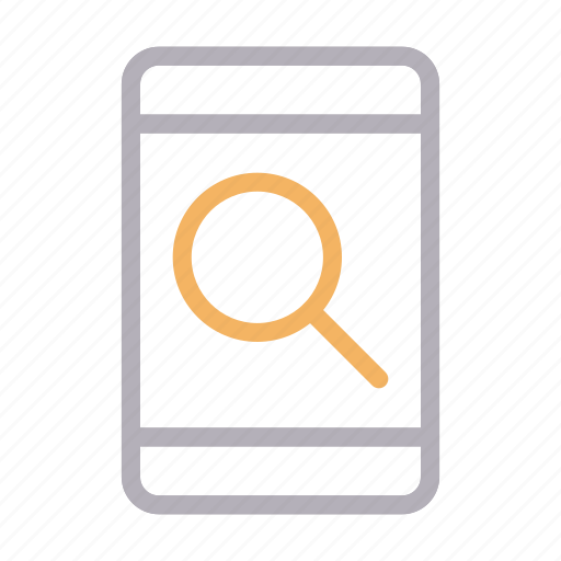 device, find, mobile, phone, search icon