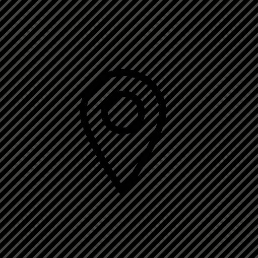 gps, gps marker, gps navigator, gps symbol, location pin icon