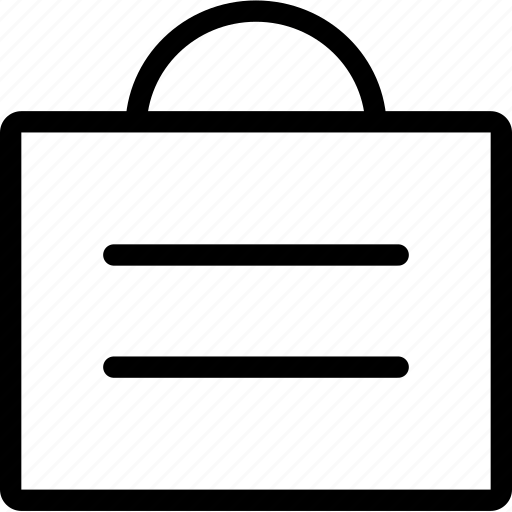 bag, business, buy, streamline icon