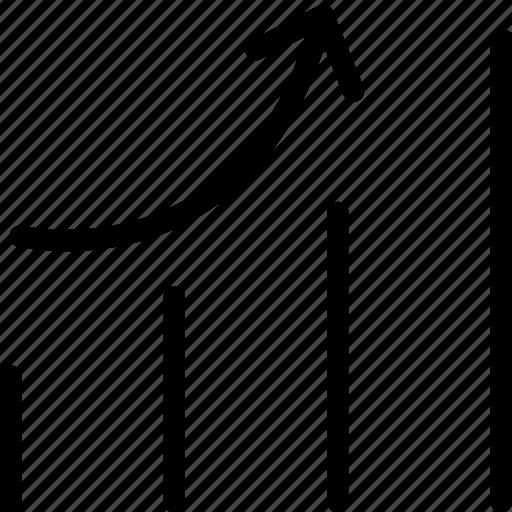 chart, graph, progress, statistics, web and mobile ui icon